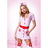 Розовый костюм похотливой медсестры