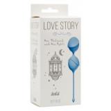 Вагинальные шарики Love Story One Thousand and One Nights Sky Blue 3004-04Lola