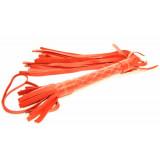 Красная плетка из натуральной кожи